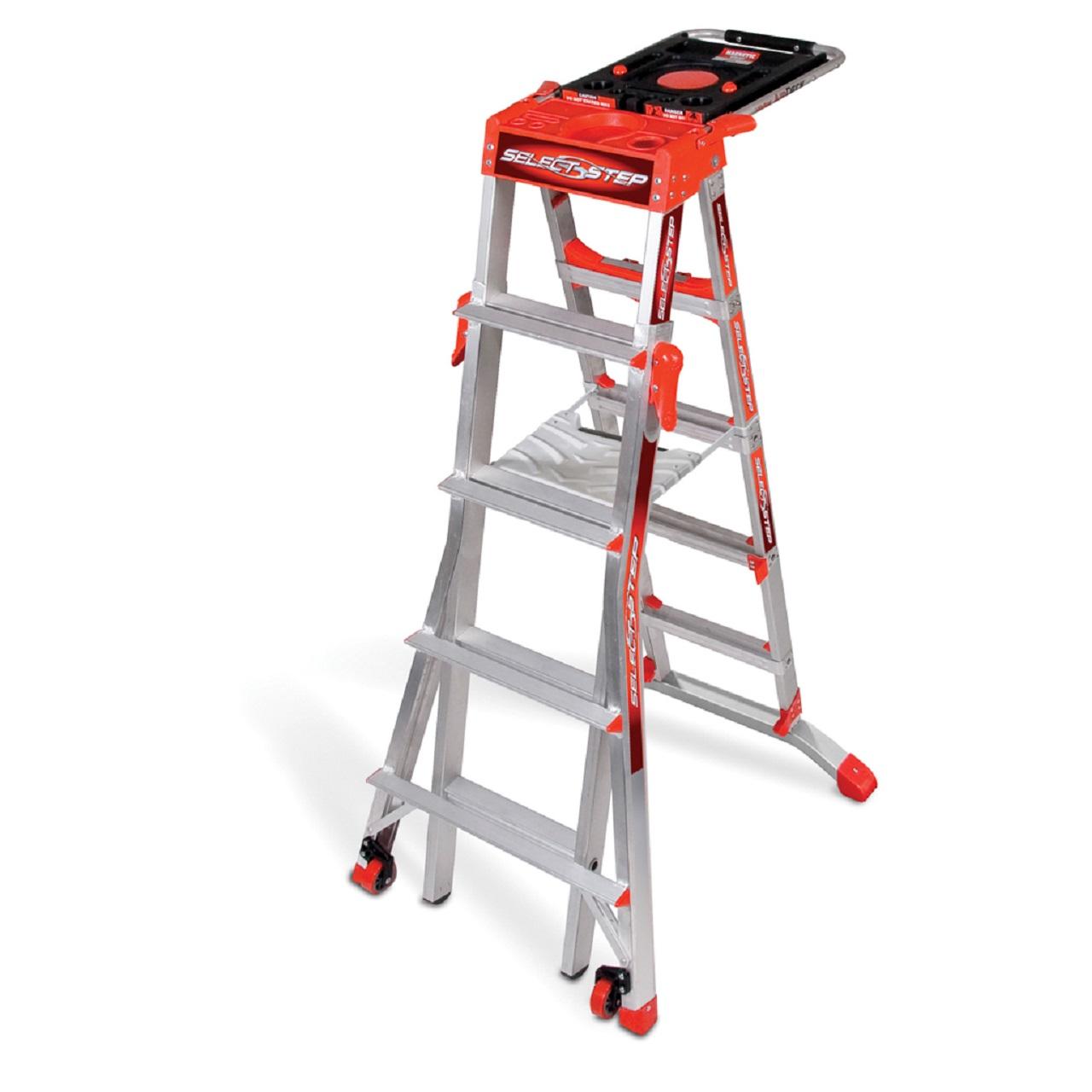 فروش عمده انواع نردبان فلزی